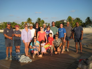2008 Grouper Moon Field Team.