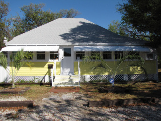 The historic Conch House is home to the Reef Environmental Education Foundation (REEF).