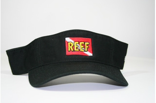 REEF Black Visor