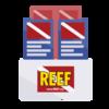 Display / distribute REEF Rack Cards