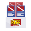 Display / distribute REEF Rack Cards